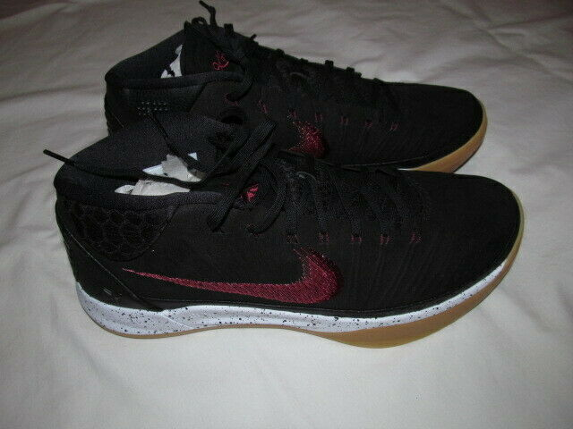 size 40 49d37 a936a Nike Kobe AD 922482 006 man black black black sail gum shoes Brand New 150  7af4e9