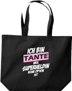 grosse-Einkaufstasche-Ich-bin-Tante-weil-Superheldin-keine-Option-ist