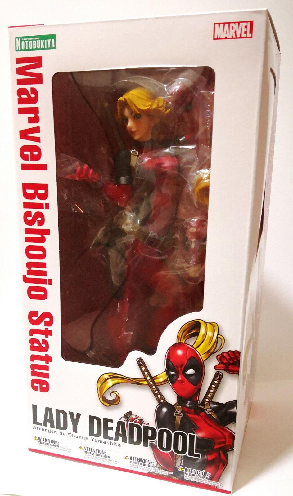 Kotobukiya förundras serier  Lady Deadpool Bishoujo 1  7 skala Figur