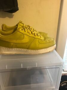 Details about Nike Lab NikeLab Air Force 1 Low Bright Citron Sz 11