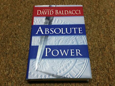 Absolute Power by David Baldacci (1996, Hardcover)