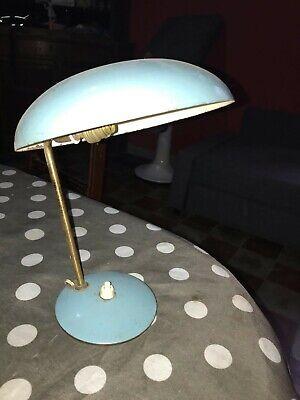 Piccola Lampada Da Tavolo In Ottone Vintage Design Italiano Anni 40 50 Ebay