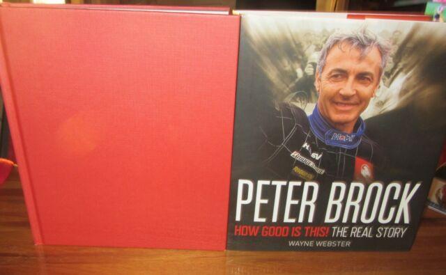 Peter Brock: How GOOD is This! ~ Wayne Webster. HbDj  UNread  HERE in MELB