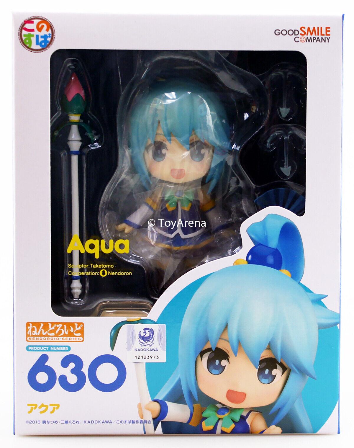 Nendoroid  630 Aqua Kono Subarashii Sekai ni Syukufuku wo  KonoSuba Authentic