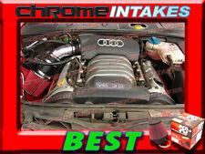 K&N+BLACK RED 02-05/2002 2003 2004 2005 AUDI A4 A6 A 4/6 3.0L V6 AIR INTAKE KIT