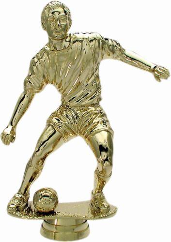 echter Gravur Fußball Pokal Sportfigur versch.Größen gold  incl