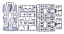 Roden-306-Douglas-C-124-Globemaster-II-1-144-scale-model-airplane-kit-277-mm thumbnail 3