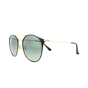 000db1bd82b Ray-Ban Sunglasses 3546 187 71 Black Gold Grey Gradient ...