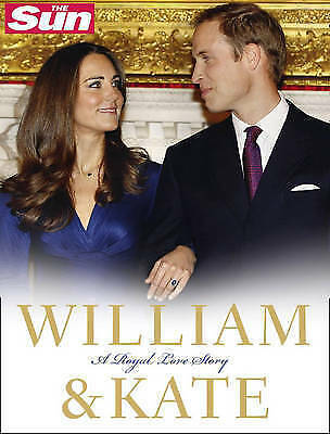 """AS NEW"" William and Kate: A Royal Love Story, Sun, The, Book"