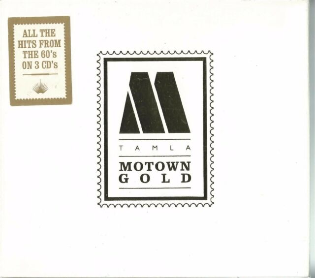 VARIOUS - TAMLA MOTOWN GOLD (THE SOUND OF YOUNG AMERICA) 2001 UK 3 X CD COMPILAT