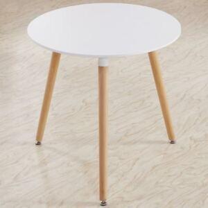 Détails sur EGGREE Table Ronde Salle Manger Scandinave pour Salle à Manger  Diamètre 80cm Bla