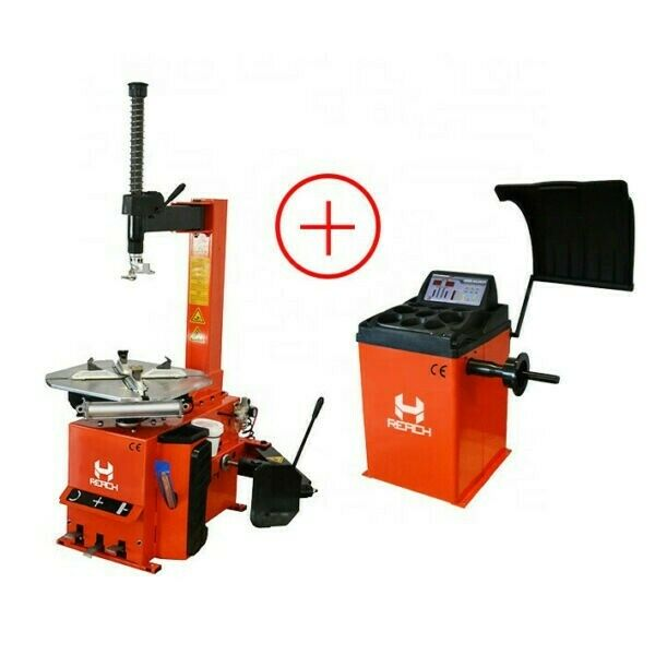 Reach Tyre Changer and Balancer Combo