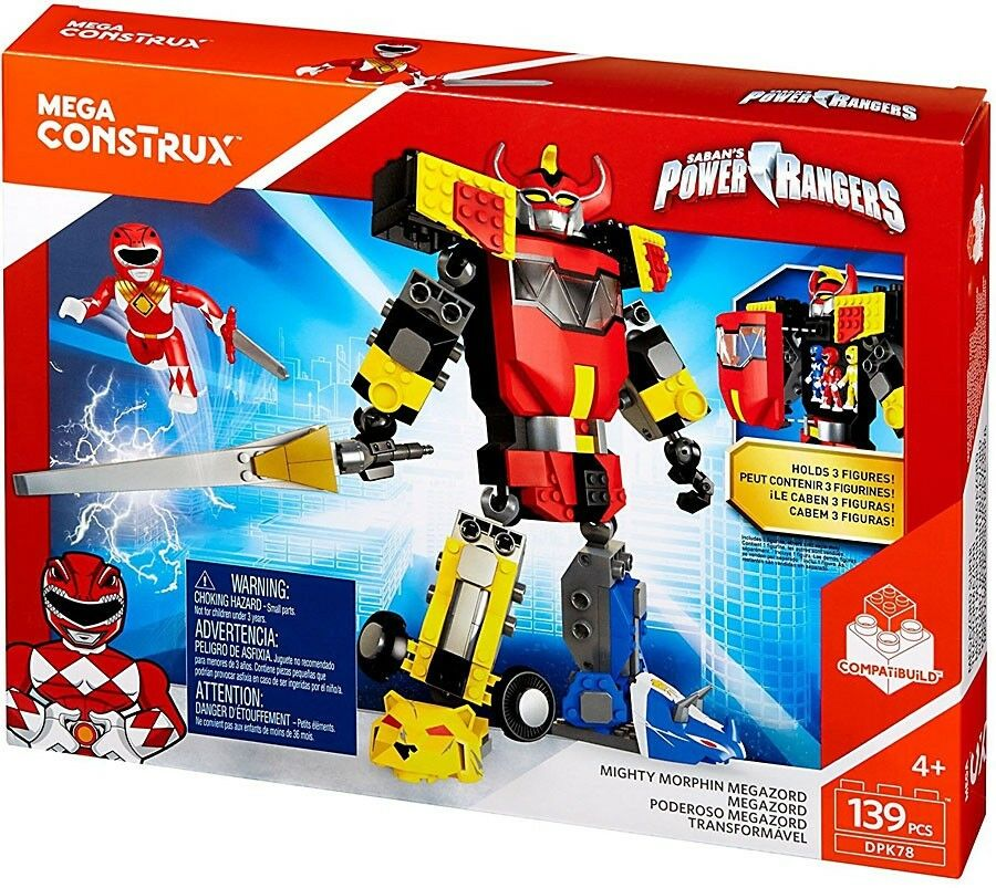 Mega Bloks Power Rangers Mega Construx Mighty Morphin Megazord Set DPK78