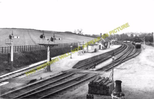 3 Salford Priors Wixford Evesham to Alcester. Broom Railway Station Photo