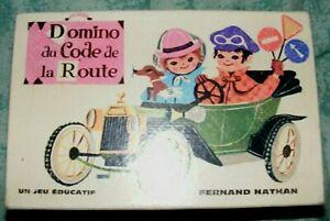 Domino-du-Code-de-la-Route-Fernand-Nathan-annees-60-Cavahel-Vintage