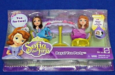 Sofia the First Royal Tea Party Jade Figure Charm #8 Share with Friends Disney