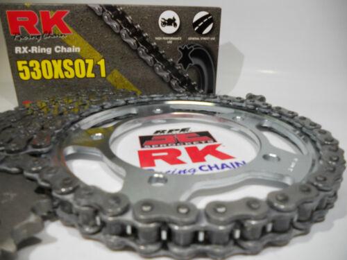 Suzuki GSXR1000 2001-06 RK 530 x 17//42t OEM Chain and Sprockets Kit