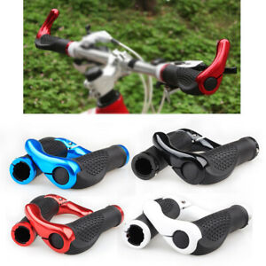 Quality Mountain Bikes Handlebar Grips Double Lock-on Bike Grip Handle Bar