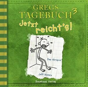 JEFF-KINNEY-GREGS-TAGEBUCH-3-JETZT-REICHT-039-S-CD-NEW
