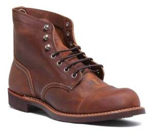 in 0 rame Stivali pelle da Red Wing 08085 color uomo qwvExvYSH
