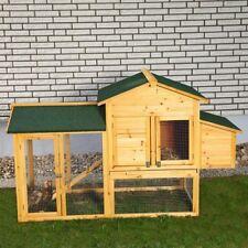 XXL Hühnerstall Hühnerhaus Kaninchenkäfig Hasenstall Hühner Kaninchenstall M01