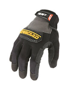 Ironclad-Black-Gray-Men-039-s-Large-Synthetic-Leather-Heavy-Duty-Gloves