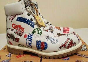 TIMBERLAND-MITCHELL-amp-NESS-NBA-Men-039-s-Boots-EU-50-US-15-BRAND-NEW