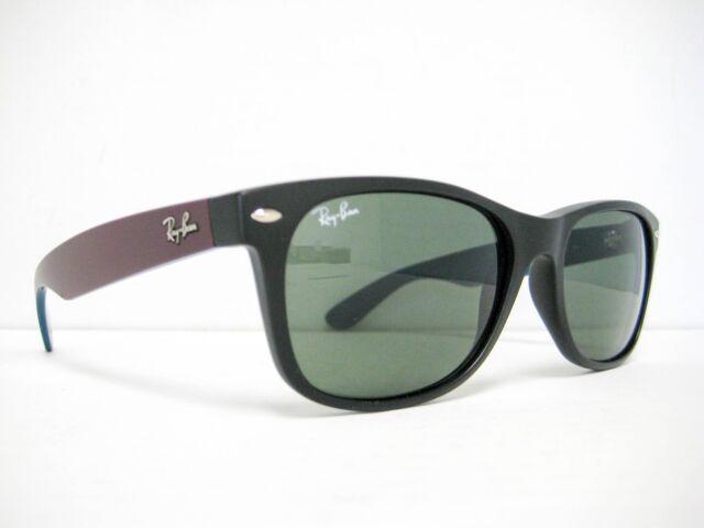 50e03ab709 Ray-Ban Rb2132 Wayfarer Non Polarized Sunglasses Matte Black Green ...