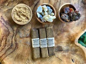 Handmade-incense-3-planks-of-Reverence-Sandalwood-Hojari-Frankincense-amp-Myrrh