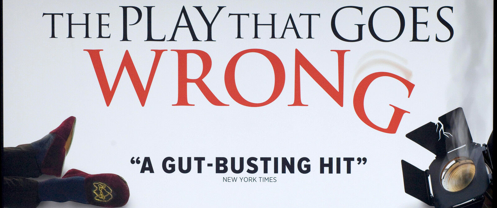 The Play That Goes Wrong New York