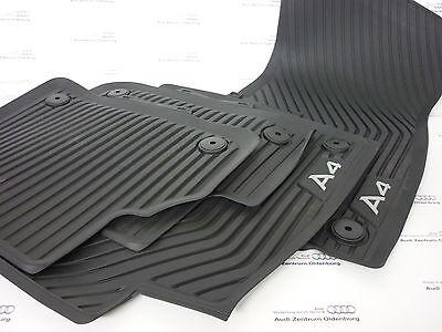 ab 2015 A4 Original Audi Allwetter-Gummi-Matten 4-teilig  8W0061511 041