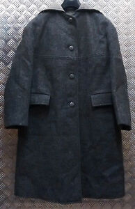 Ladies Greatcoat Coat Grey Genuine All Vintage Military 1960`s Sizes Duffle Wool 8EqEO0