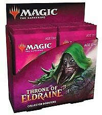 MTG Magic: The Gathering Throne of Eldraine Collector Booster Box