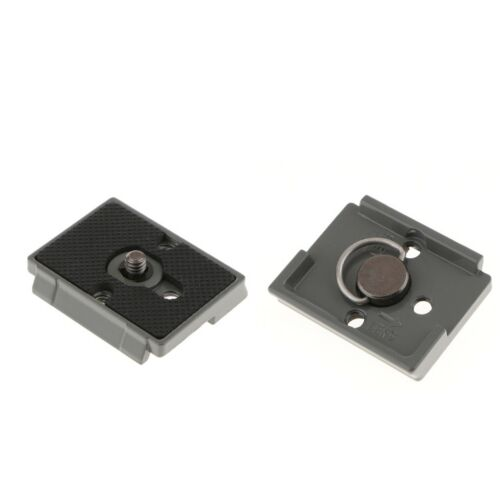 2X Tripod Quick Release Plate for Manfrotto 200PL14 804RC2, 728B, 498RC2