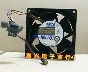 For-1pc-AVC-DBPA0938B2S-Cooling-fan-4pin-90-90-38MM-12-V-4-0-A