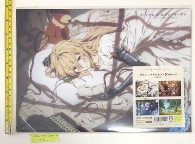 VIOLET EVERGARDEN movie bonus novel 4 storage box set kyoto animation anime