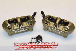 09-11-Bmw-S1000rr-Oem-Right-Left-Front-Brake-Caliper-Set-Pair-Calipers-C8