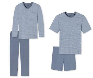 REDUZIERT-Schiesser-Herren-Schlafanzug-oder-Shorty-Gr-48-58-NEU-UVP-39-95-49-95