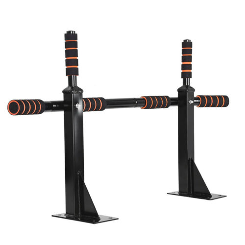 Wall Mounted Pull Up Bar Heavy Duty Chin Gym Workout Training Fitness Pro Mount