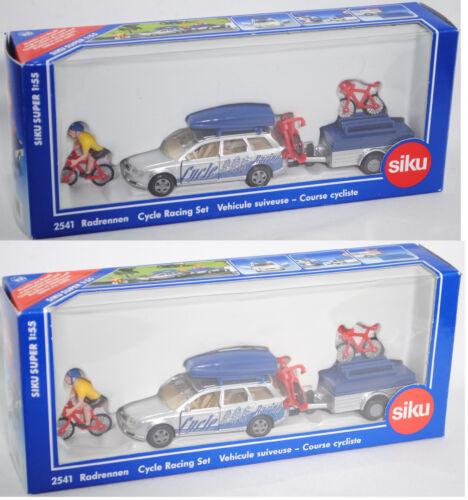 Siku Super 2541 Radrennen mit Audi A4 Avant