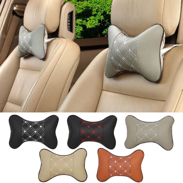 Universal Car Vehicle Seat Head Neck Rest Cushion Pad Travel Headrest Pillow AU