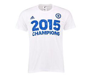 adidas Chelsea 2016//17 Premier League Champions Men/'s T-Shirt