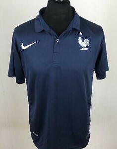 big sale cc55c 0f497 Details about France National Team Football Shirt Men's Size M Soccer Jersey