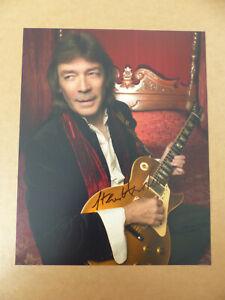 GENESIS Steve Hackett signed Autogramm signiert auf 20x25 cm Foto