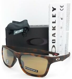 f8d85ffd8e8 Image is loading NEW-Oakley-Holston-sunglasses-Brown-Tortoise -Prizm-Tungsten-