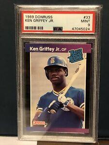 1989-Donruss-Ken-Griffey-Jr-Rated-Rookie-RC-33-PSA-9-MINT-Seattle-Mariners-HOF
