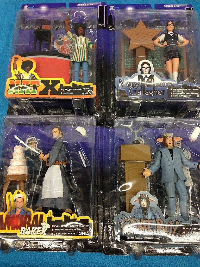 Saturday Night Live Serie 1 Set De 4 Figuras De Acción-X-Juguetes