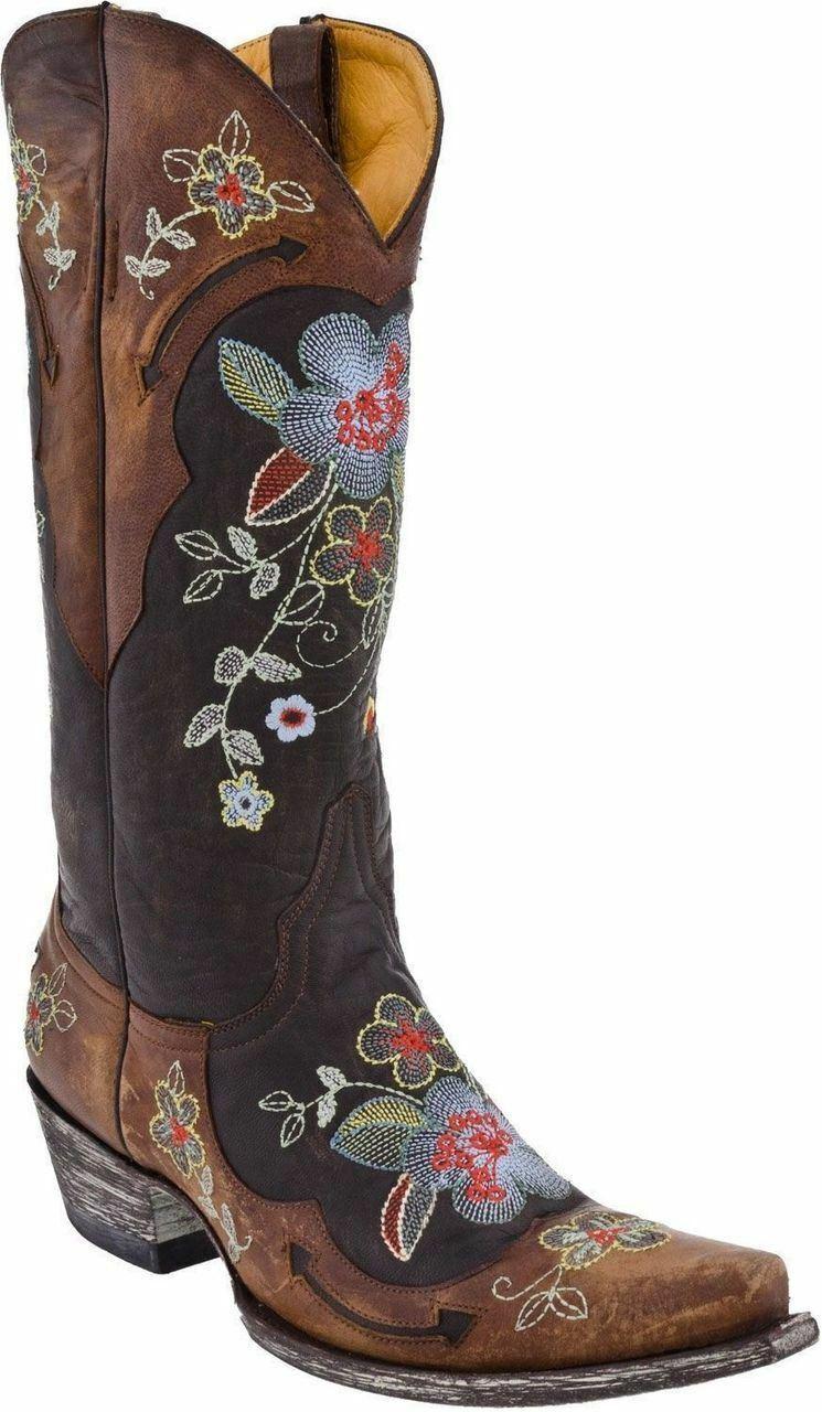 benvenuto a scegliere Old Gringo Donna Donna Donna  Bonnie Cowboy Western stivali Choc Brass L649-1  scelta migliore