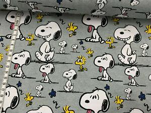 Biojersey-Snoopy-Faces-grau-meliert-Peanuts