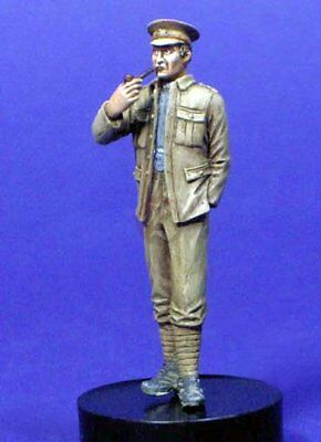 Resicast 1//35 British Tank Officer at Ease Smoking Pipe WWII 355578